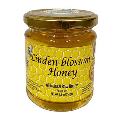 Linden Blossom Honey, 8.8oz/250g