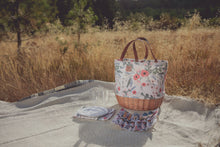 Load image into Gallery viewer, Picnic, Promenade Floral Picnic Basket