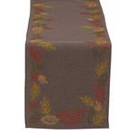 Table Runner, Shimmering Leaves