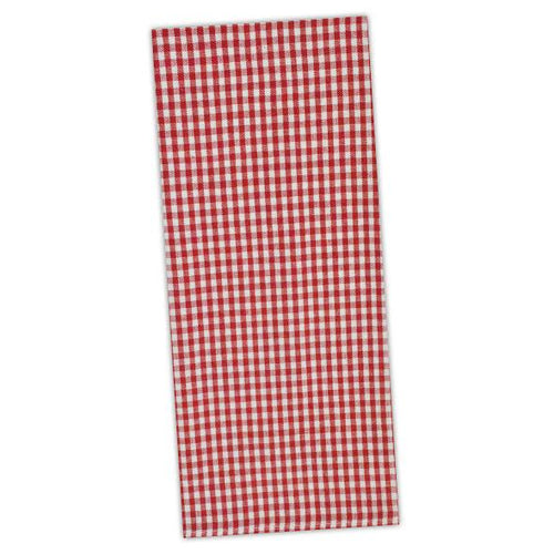 Dishtowel, Tango Red Checks