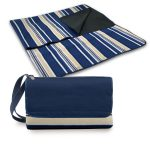 Load image into Gallery viewer, Picnic, Blanket Tote Blue Stripe