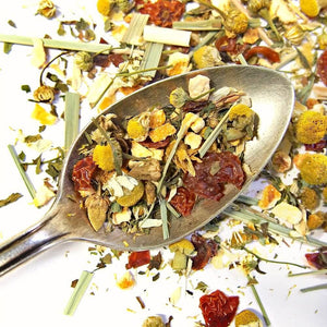 "Chamomile Citrus Herbal Tea - Loose Leaf ""Cozy Tranquil"