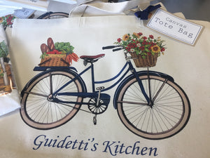 Tote Bag GK Blue Bicycle