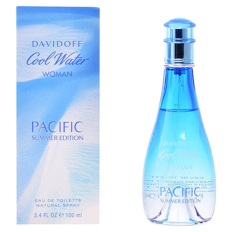 Parfum Femme Cool Water Woman Pacific Summer Edition Davidoff EDT