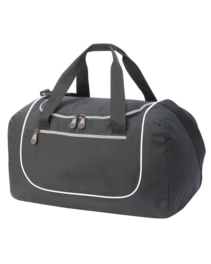 Shugon SH1577 Rhodes Black & White Sports Holdall