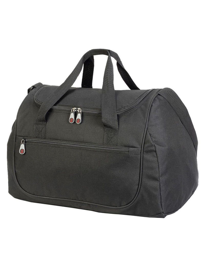 Shugon SH1577 Rhodes Black Sports Holdall