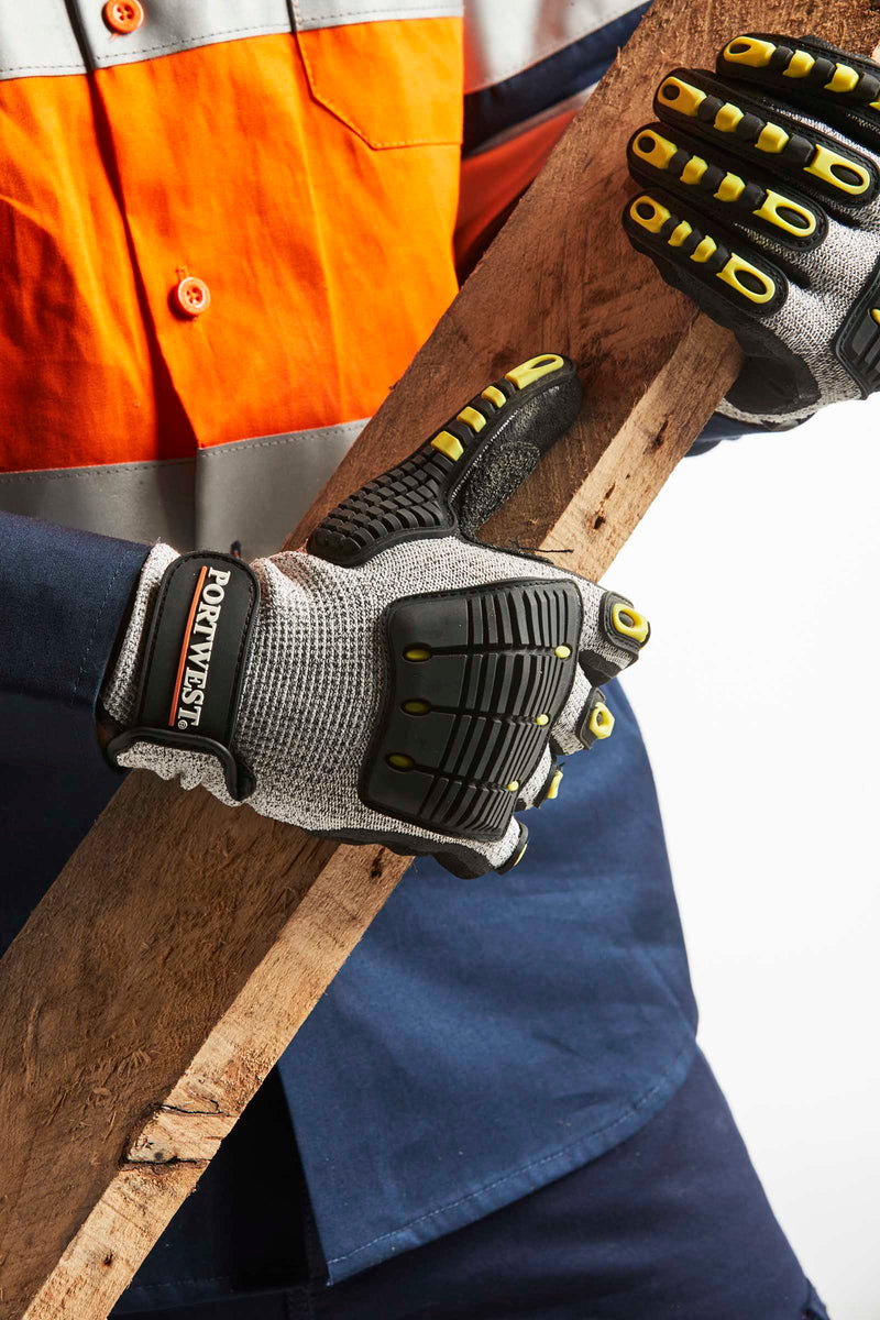 Portwest A722 Anti Impact Cut Resistant Gloves
