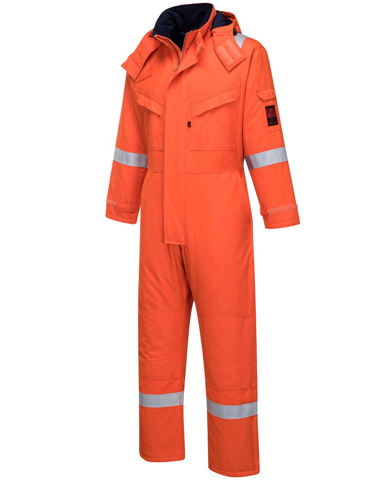 Portwest AF84 Araflame Insulated Winter Coveralls