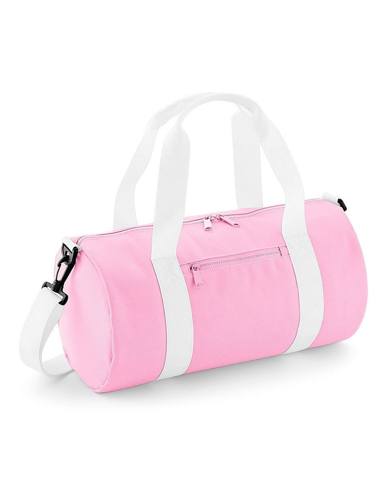 BagBase BG140S Mini Barrel Bag Pink