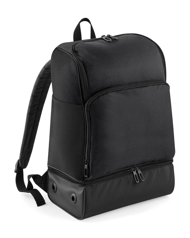 BagBase BG576 Hardbase Backpack Black