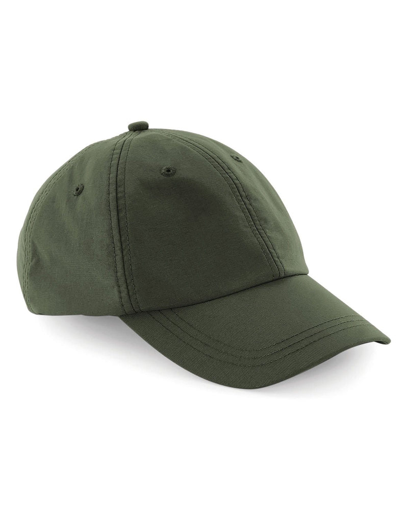 Beechfield B187 Tactel Outdoor 6 Panel Cap Olive Green