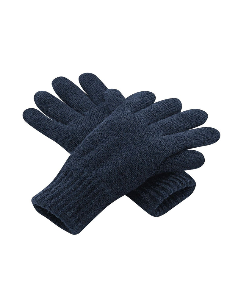 Beechfield B495 Classic Thinsulate Gloves French Navy