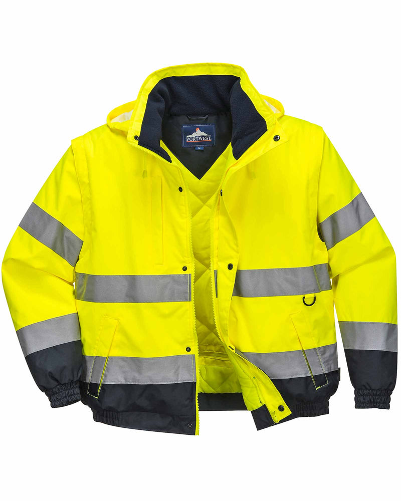 Portwest C468 Hi Vis 2 in 1 Jacket