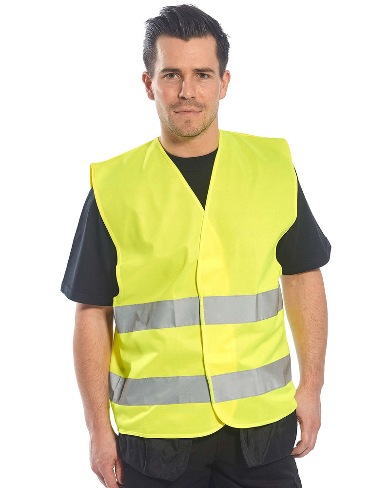 Portwest C474 Hi Vis Two Band Vest