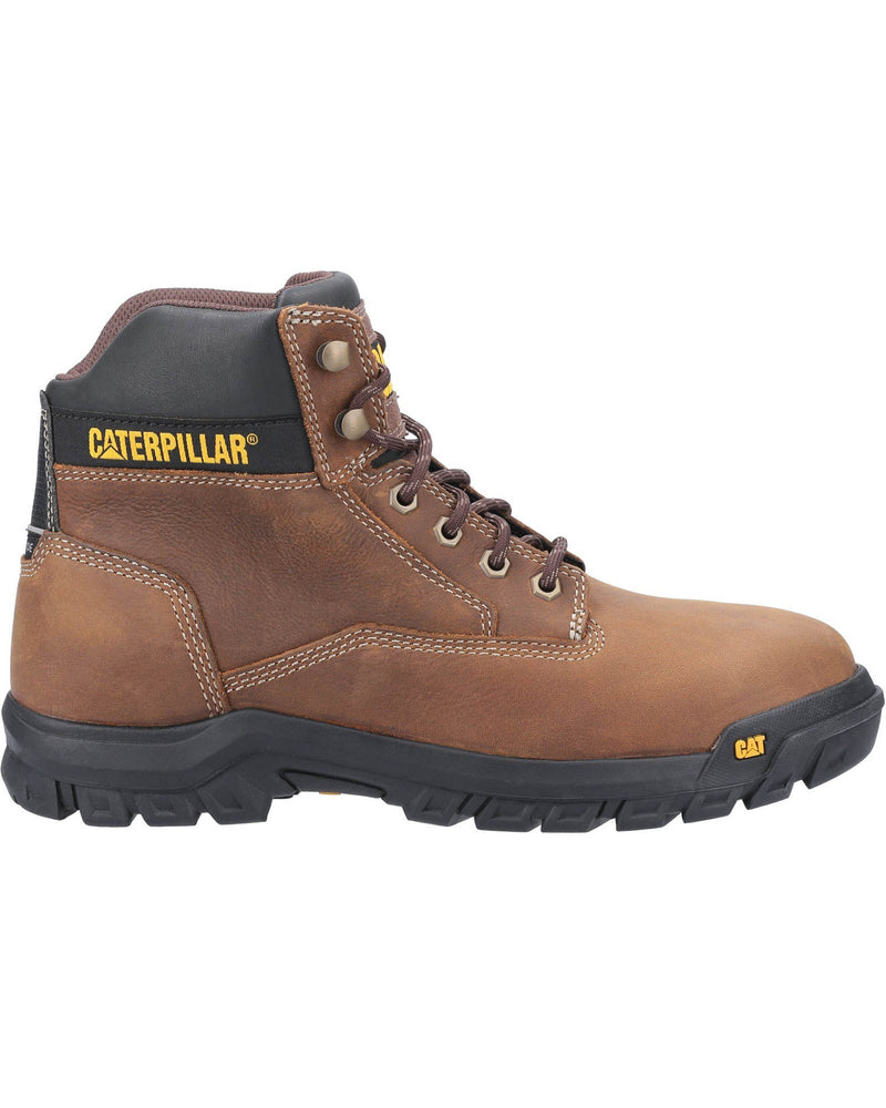 Caterpillar Median Brown S3 Safety Boots