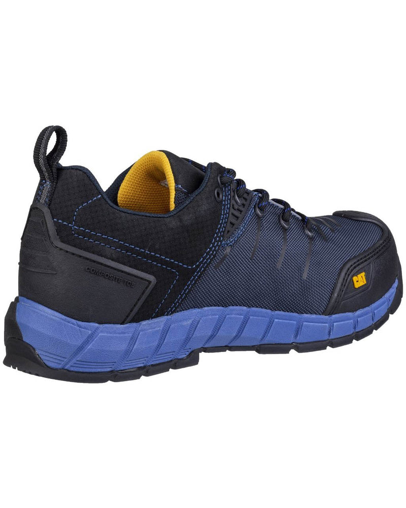 Caterpillar Byway Blue Safety Trainers