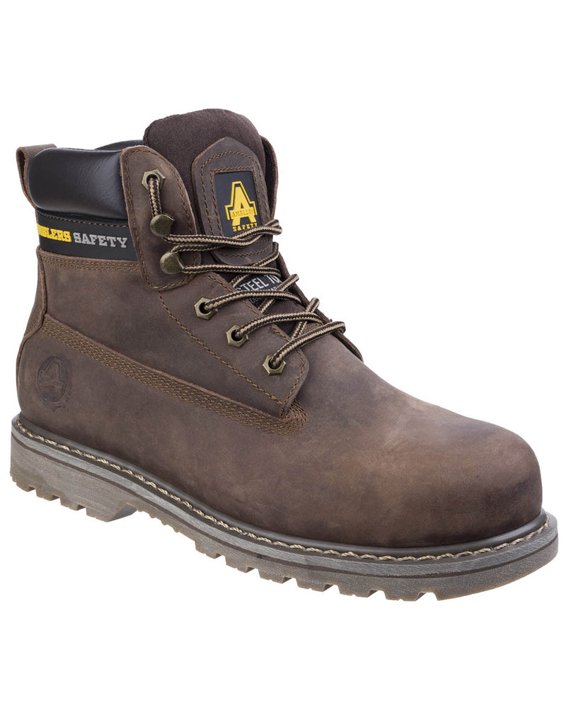 Amblers FS164 Crazy Horse Leather Welted Safety Boots