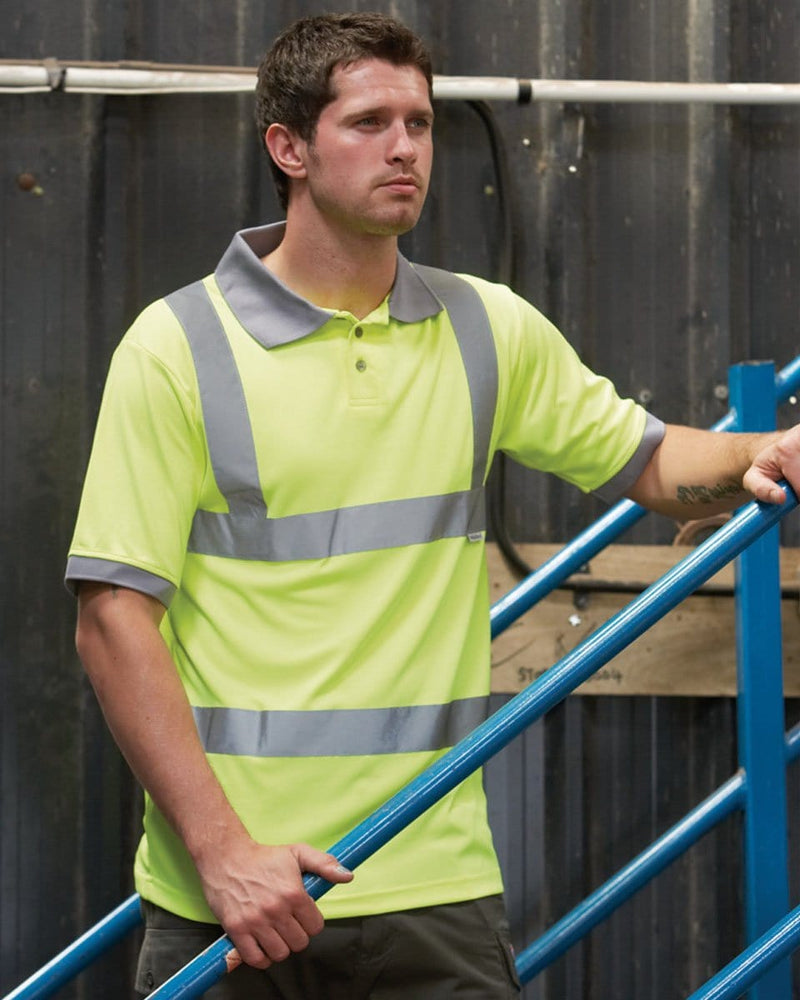 Dickies Hi-Vis Safety Polo Shirt Lifestyle