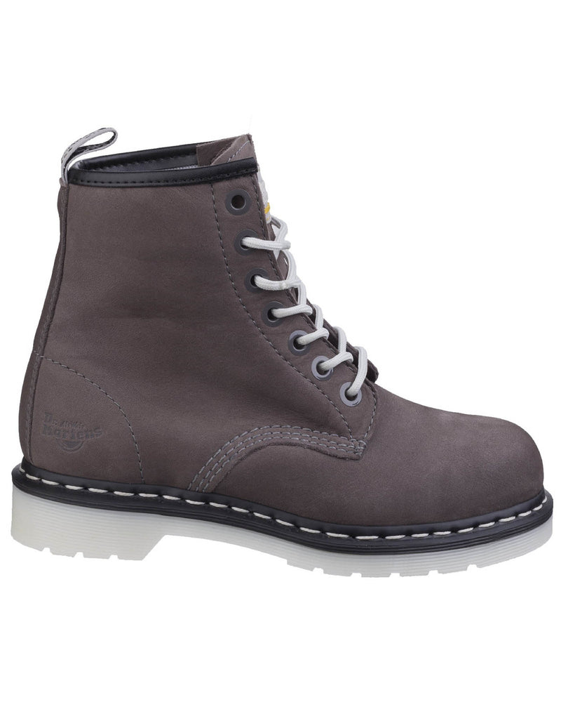 Dr Martens Maple Ladies Grey Safety Boots