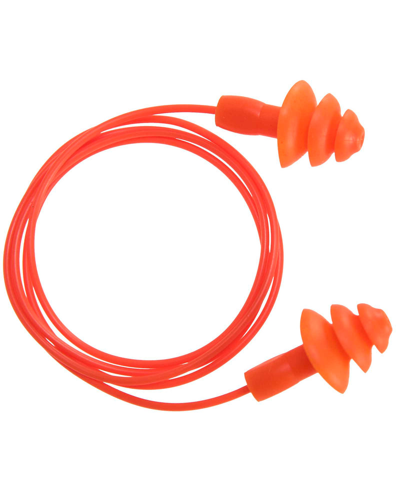 Portwest EP04 Reusable Corded TPR Ear Plug (50 pairs)