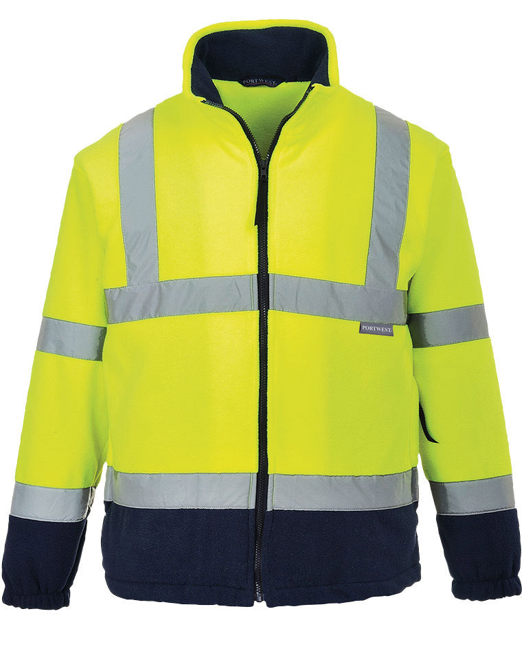 Portwest F301 Hi Vis Two Tone Fleece