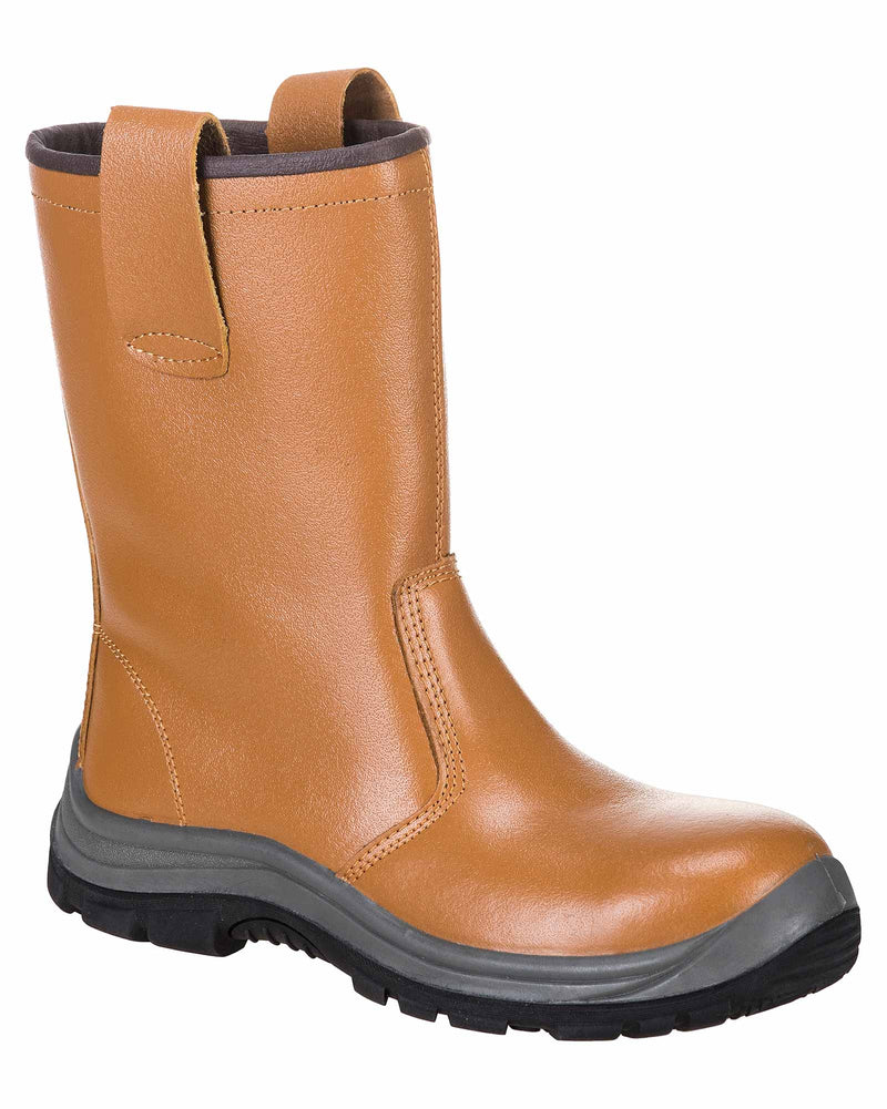 Portwest FW06 Steelite Unlined Heat Resistant Rigger Boots