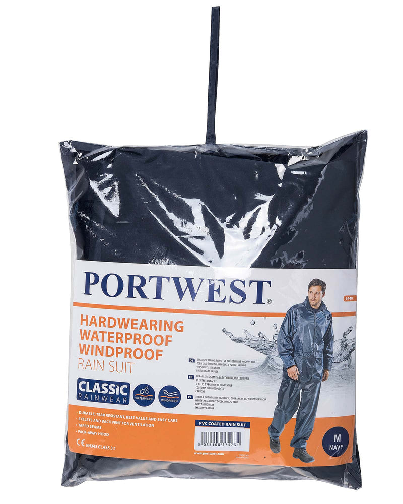 Portwest L440 Essentials Rainsuit (2 Piece Suit)