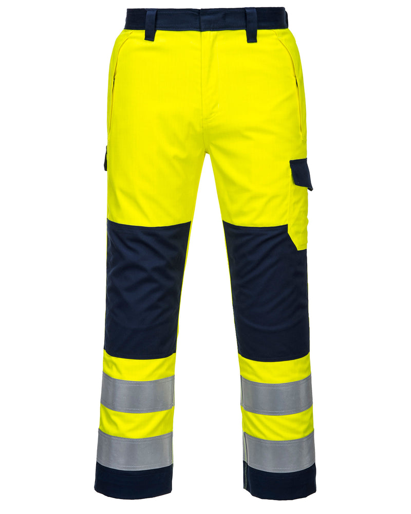 Portwest MV46 Hi-Vis Modaflame Trousers
