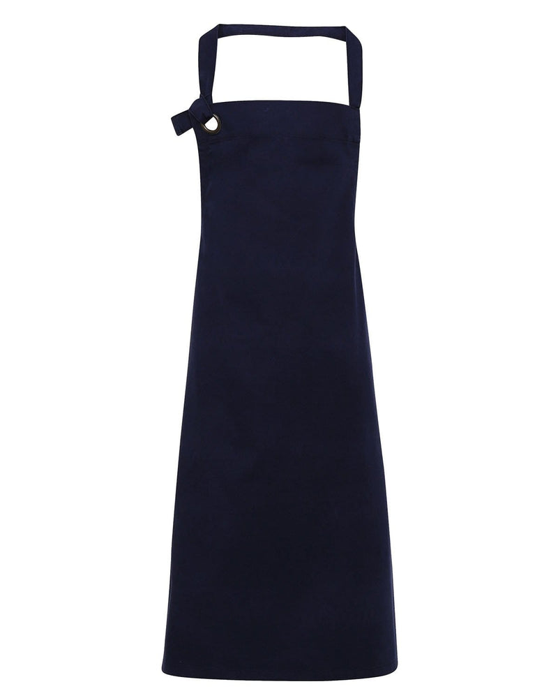 Premier PR130 Calibre Heavy Cotton Canvas Bib Apron - Navy