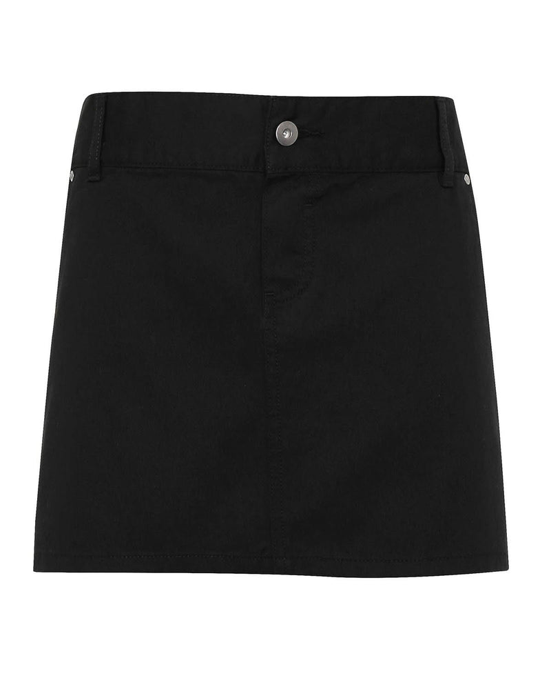 Premier PR133 Cotton Chino Waist Apron - Black
