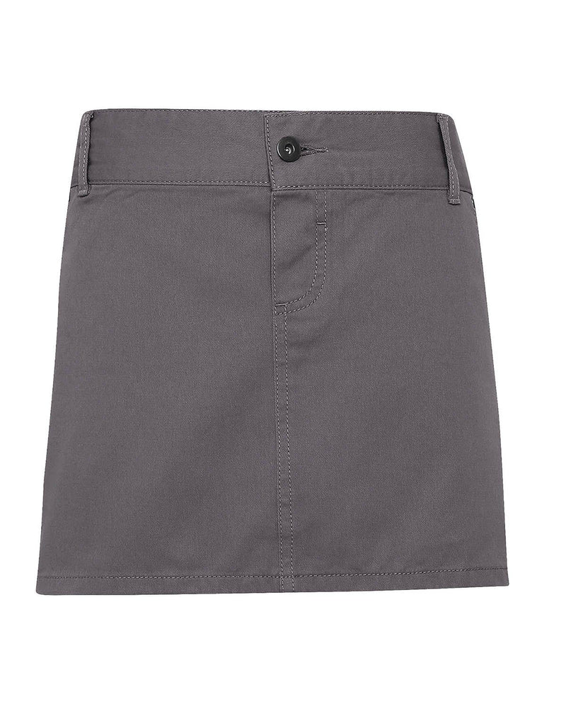 Premier PR133 Cotton Chino Waist Apron - Steel