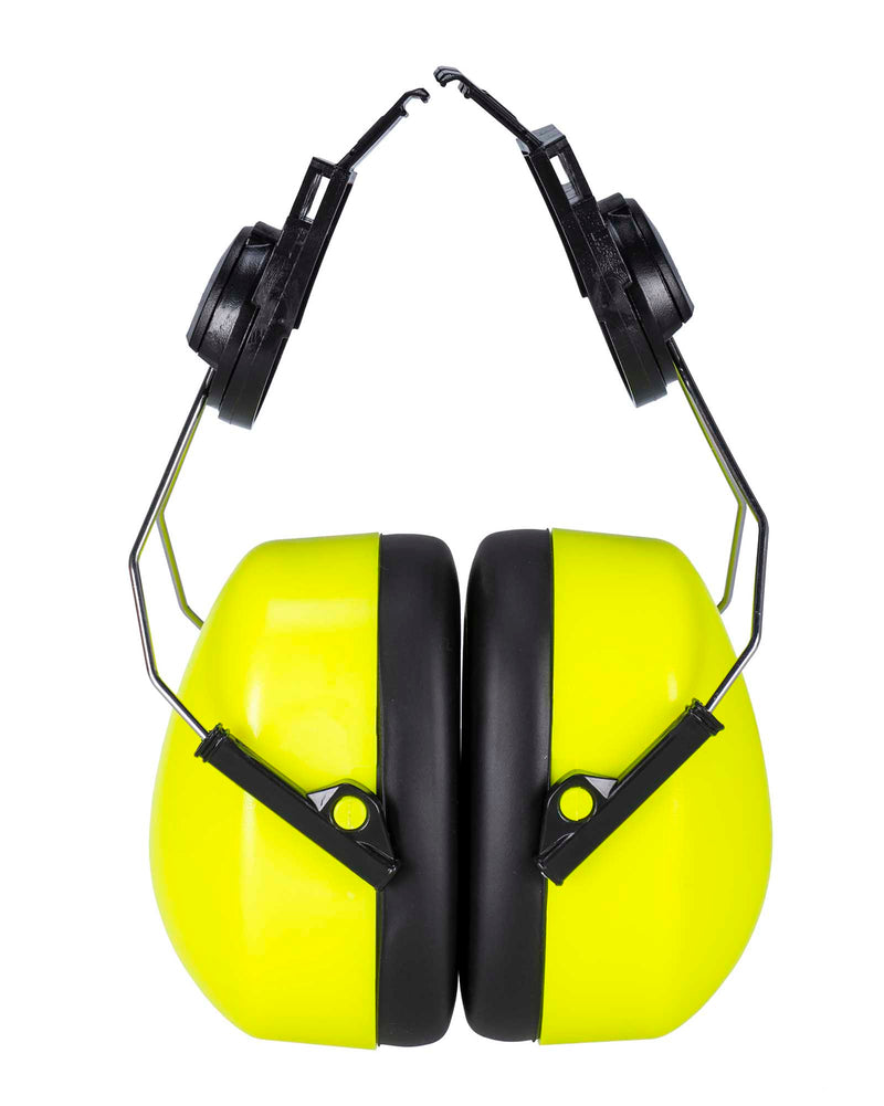 Portwest PS47 Endurance Hi Vis Clip-On Ear Protector Yellow