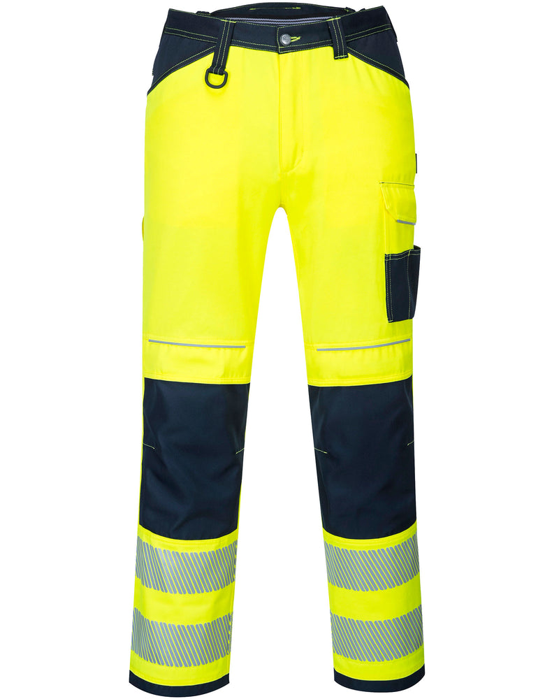 Portwest PW340 PW3 Hi-Vis Work Trousers
