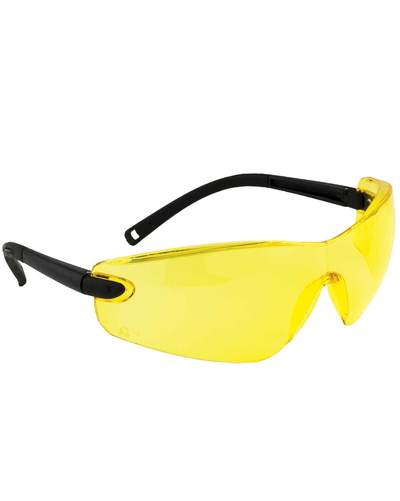 Portwest PW34 Profile Safety Spectacle Amber