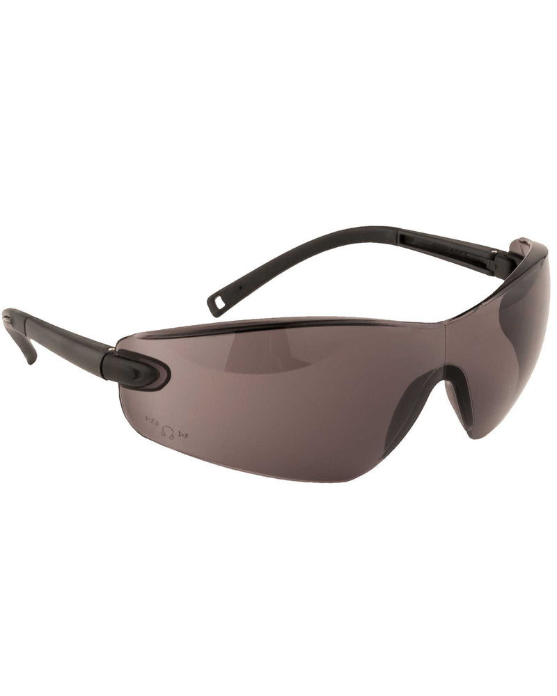 Portwest PW34 Profile Safety Spectacle Smoke