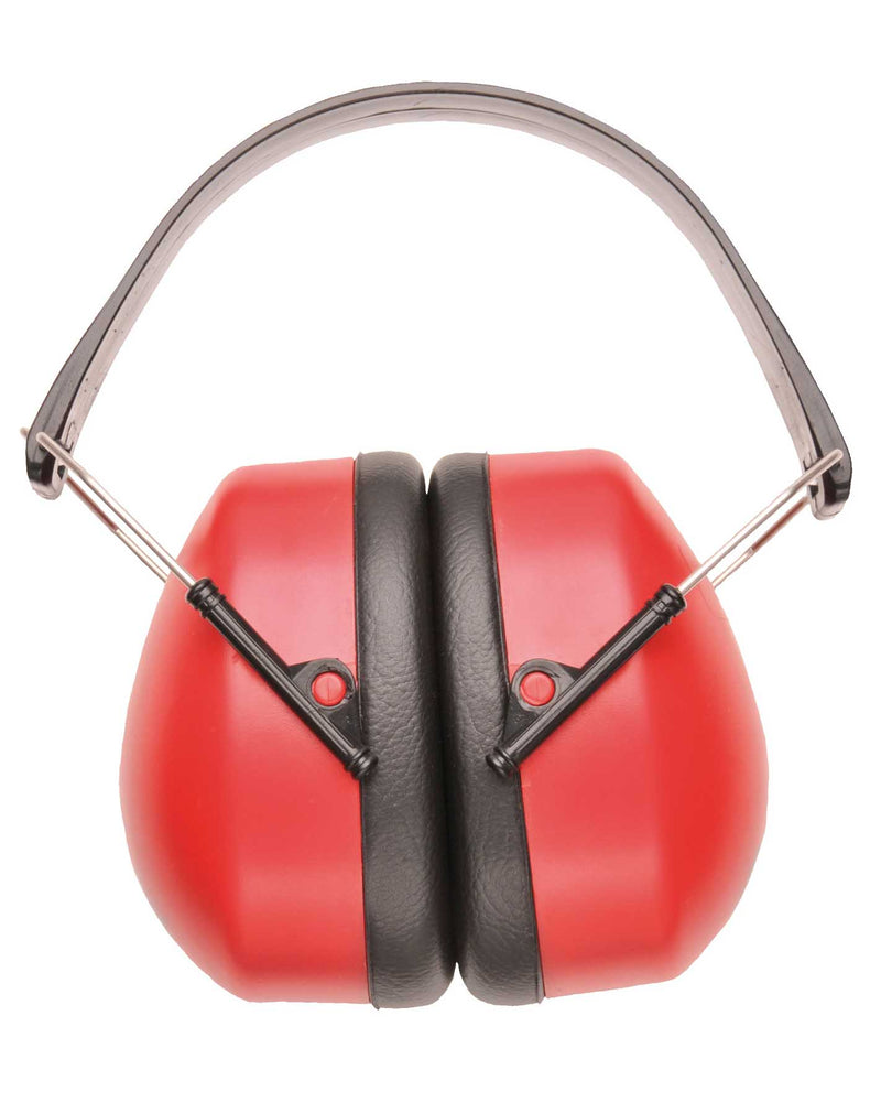 Portwest PW41 Super Ear Protector Muffs RED