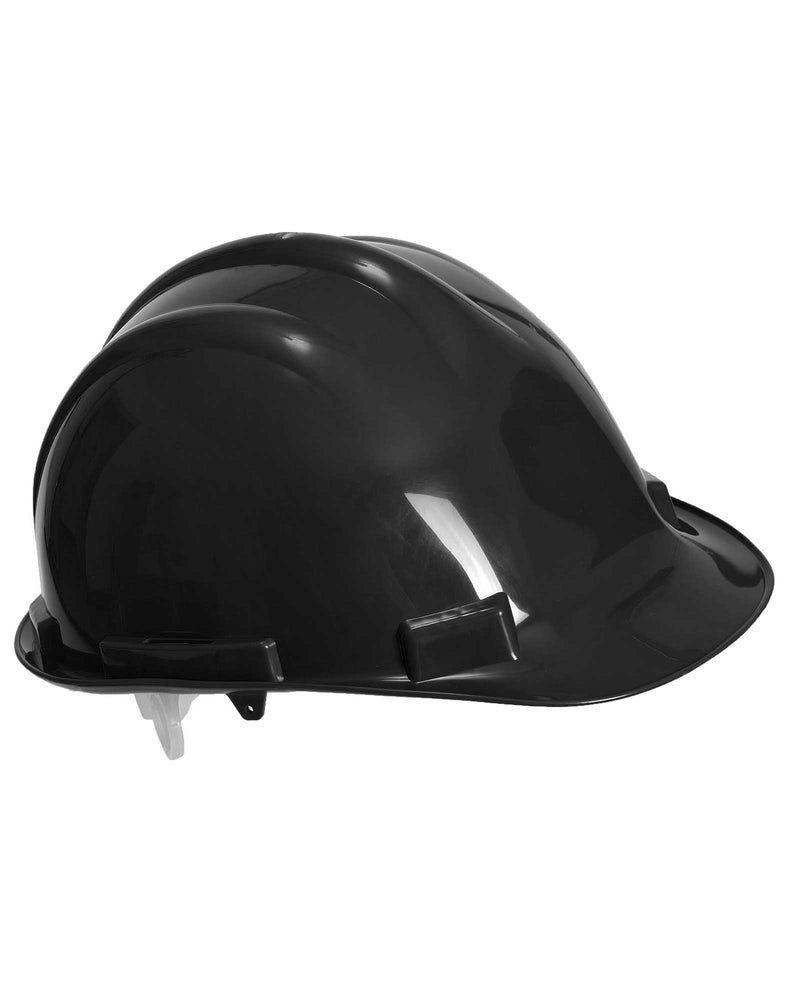 Portwest PW50 Expertbase Safety Helmet Black