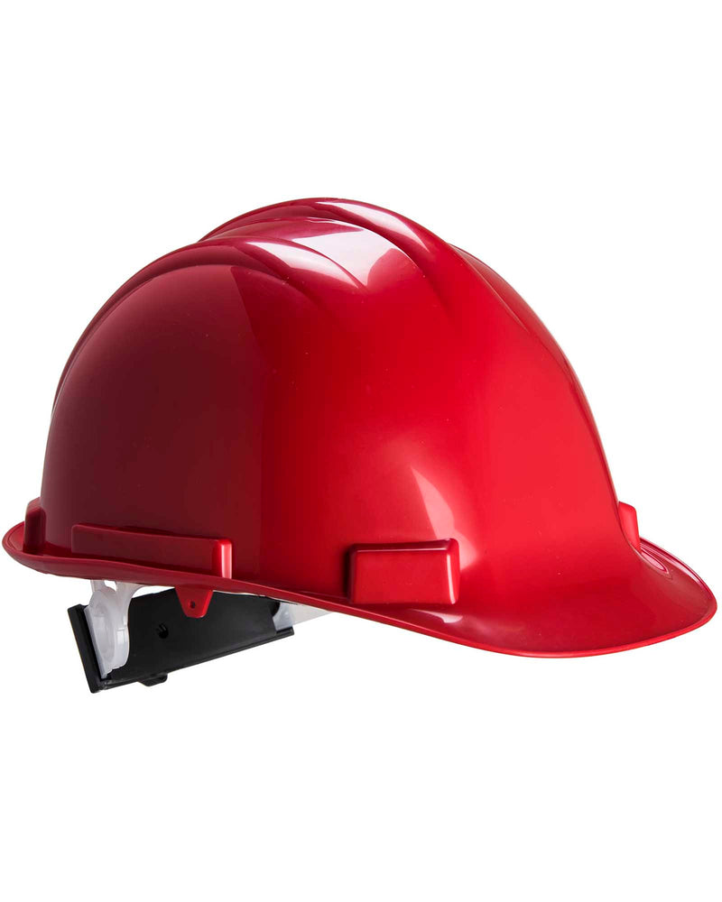 Portwest PW50 Expertbase Safety Helmet Red