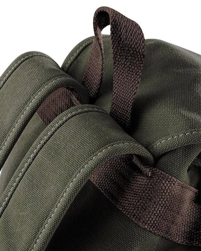 Quadra QD612 Vintage Canvas Backpack