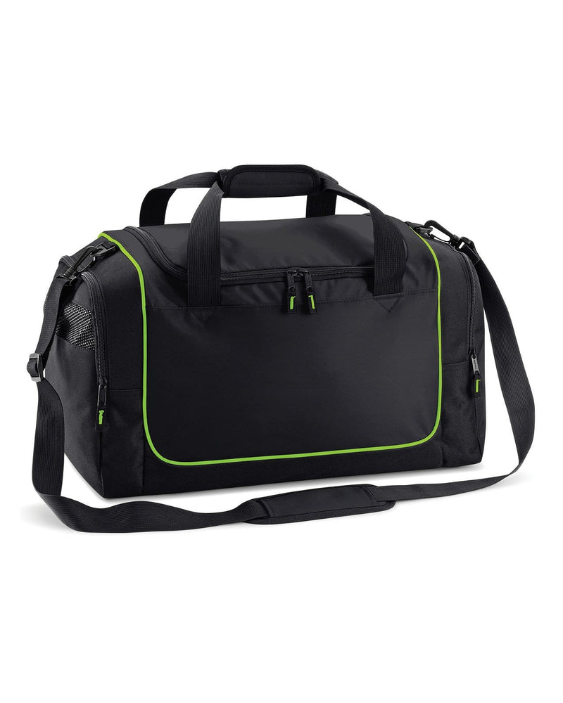 Quadra QS77 Black / Lime Teamwear Locker Bag