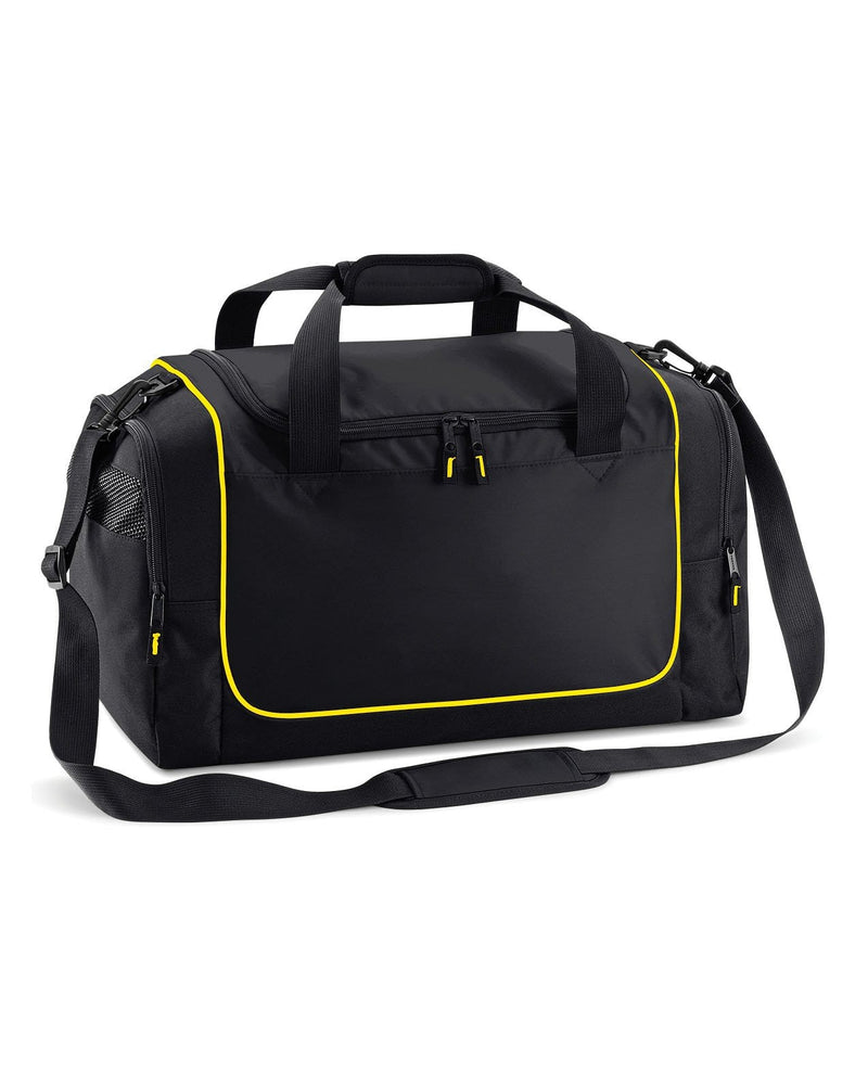 Quadra QS77 Teamwear Black / Yellow Locker Bag