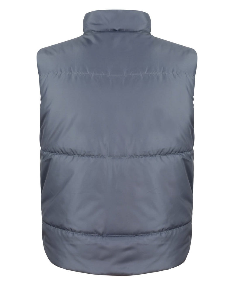 Result R44X Fleece Lined Grey Bodywarmer - Rear