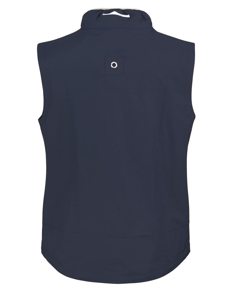 Result R60X Navy Crew Gilet - Rear