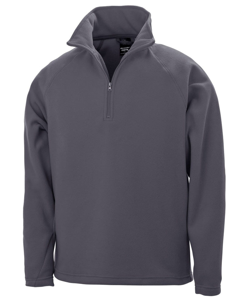 Result R112X Charcoal Microfleece Pullover