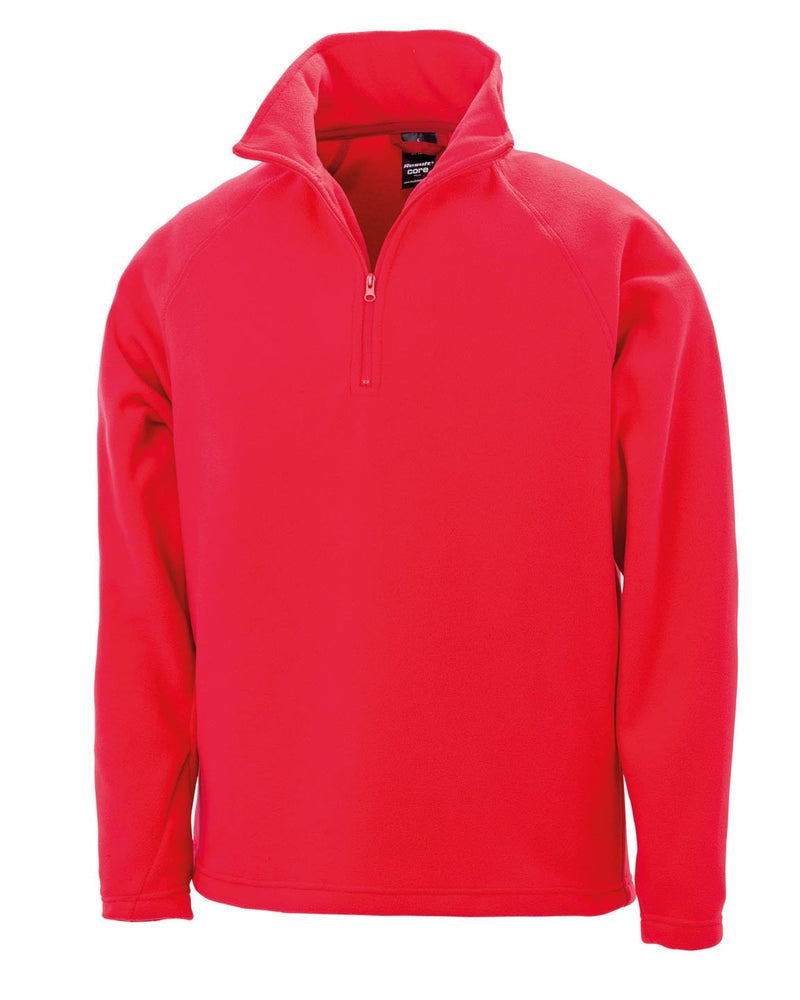 Result R112X Red Microfleece Pullover