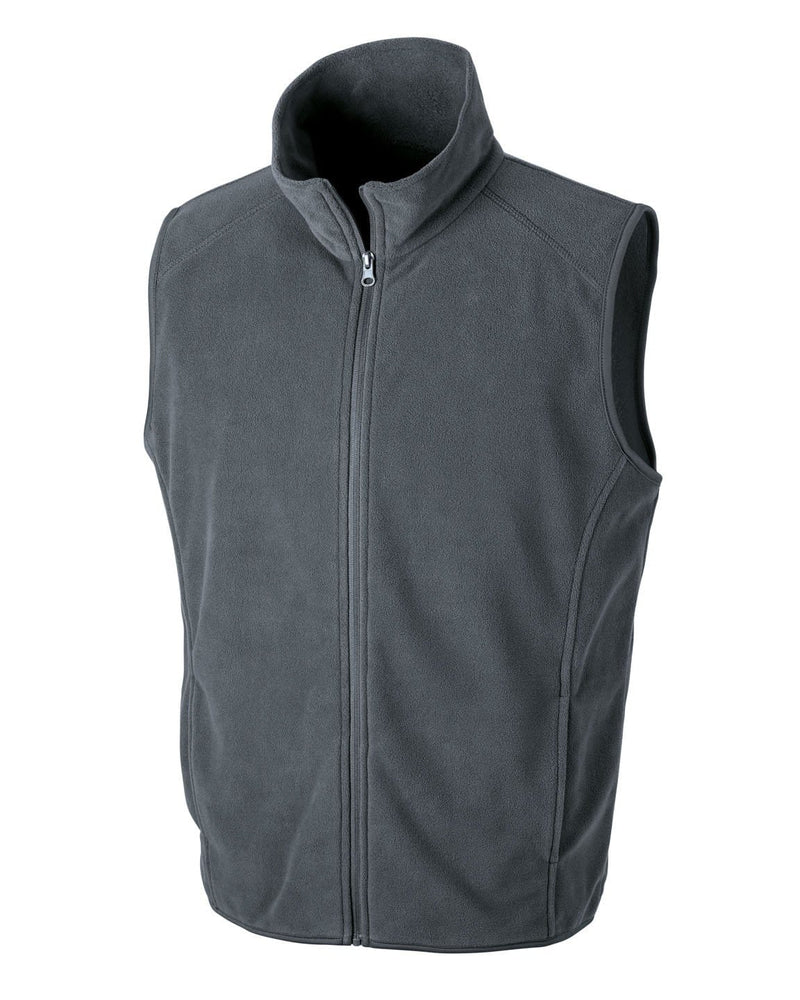 Result R116X Charcoal Microfleece Gilet