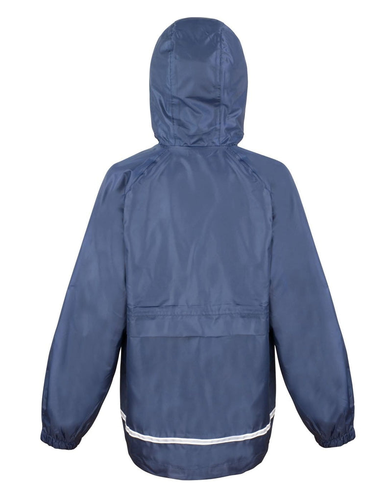 Result R203JY Childrens Waterproof Fleece Jacket Rear