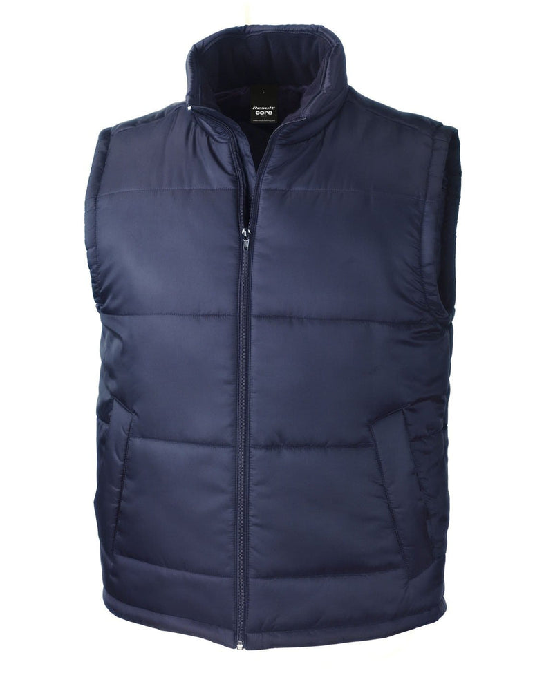 Result R208X Navy Bodywarmer Jacket