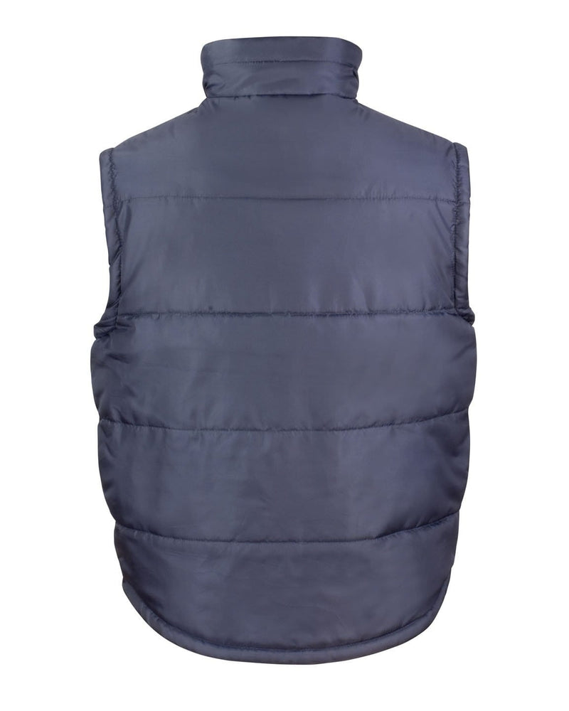 Result R208X Bodywarmer Jacket Rear