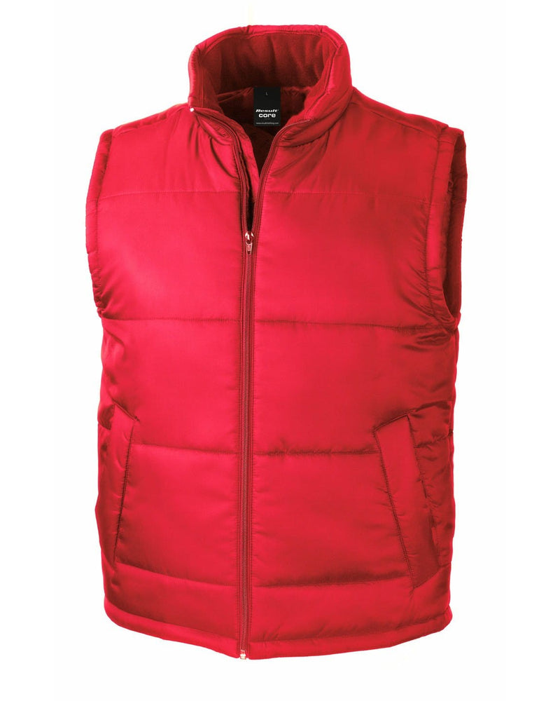 Result R208X Red Bodywarmer Jacket